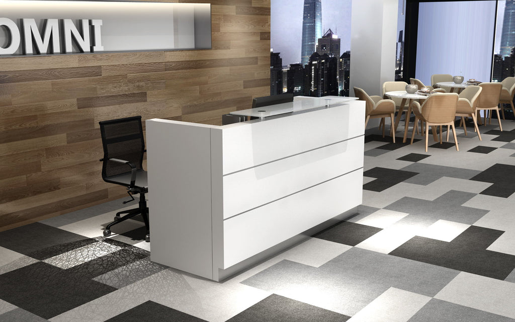 Reception Desk With Mobile Pedestal Omni Office