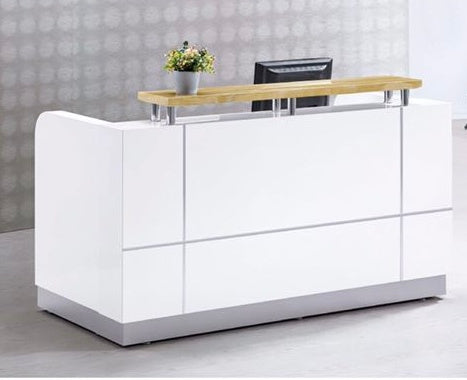 Reception Desk with Floating Transaction Top