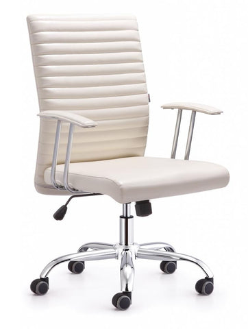 Medium Back Bonded Leather Office Chair
