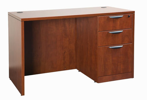 Laminated Rectangular Desk with Pedestal Packages