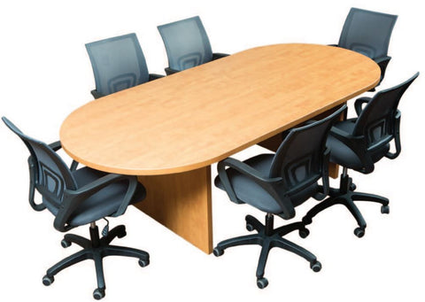 Racetrack Boardroom Table