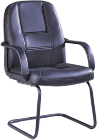 Bonded Leather Visitor Chair