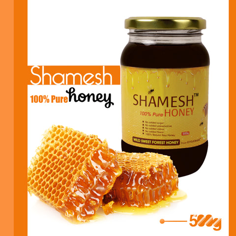 Shamesh™ Wild Forest Indian Honey at stylemake