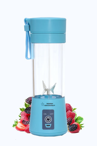 DD TRIAL Copy of Stylemake™ 6 Blade Blender 380ml Fruit Mixing Machine - High Quality USB Blender
