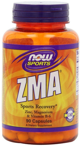 Now Foods ZMA , Zinc Magnesium and Vitamin B-6