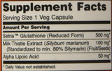 Now Foods, Glutathione 500mg Plus, 60 Vcaps