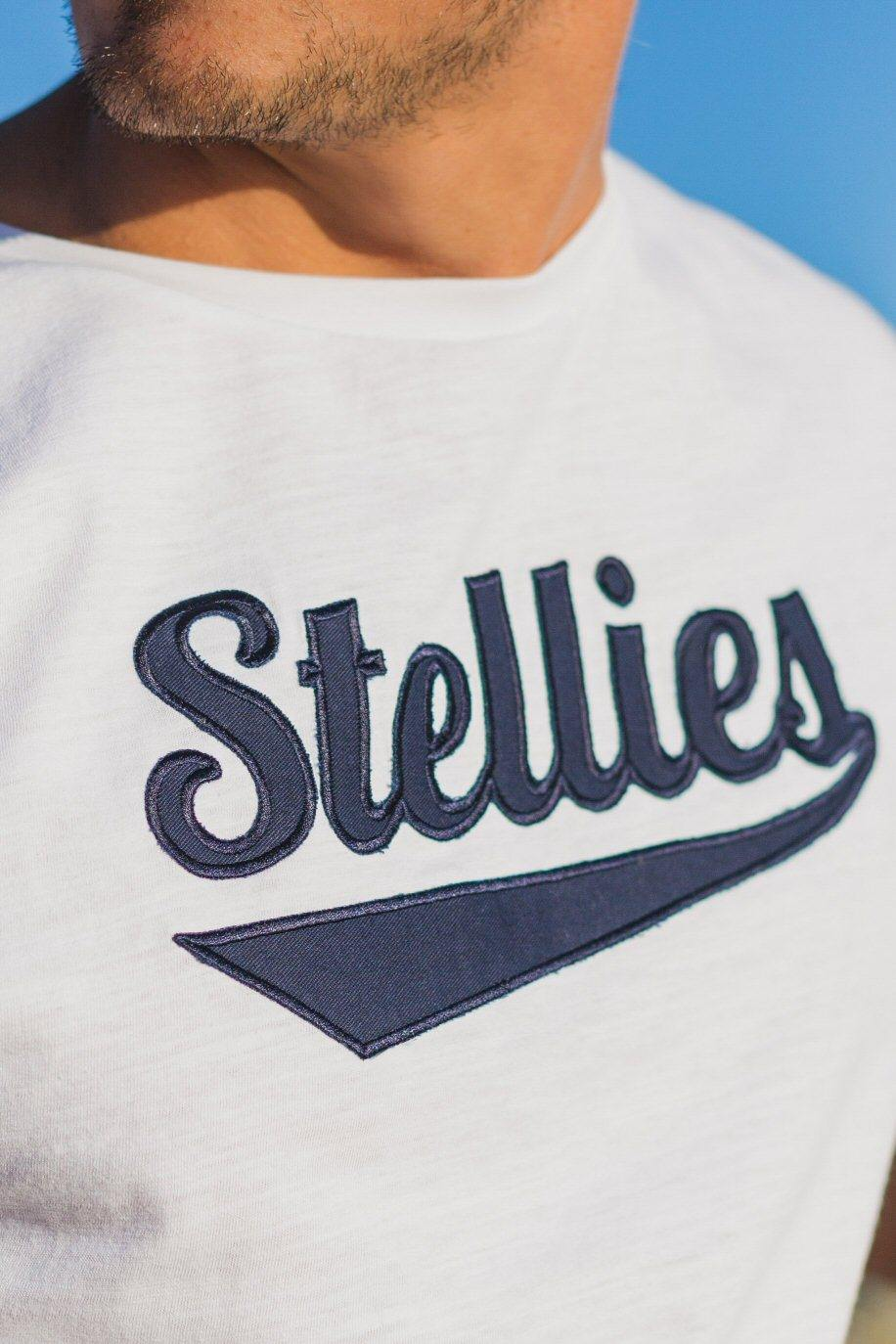 Vintage OG Crew-Neck Tee in White Slub - Stellies Authentic Clothing