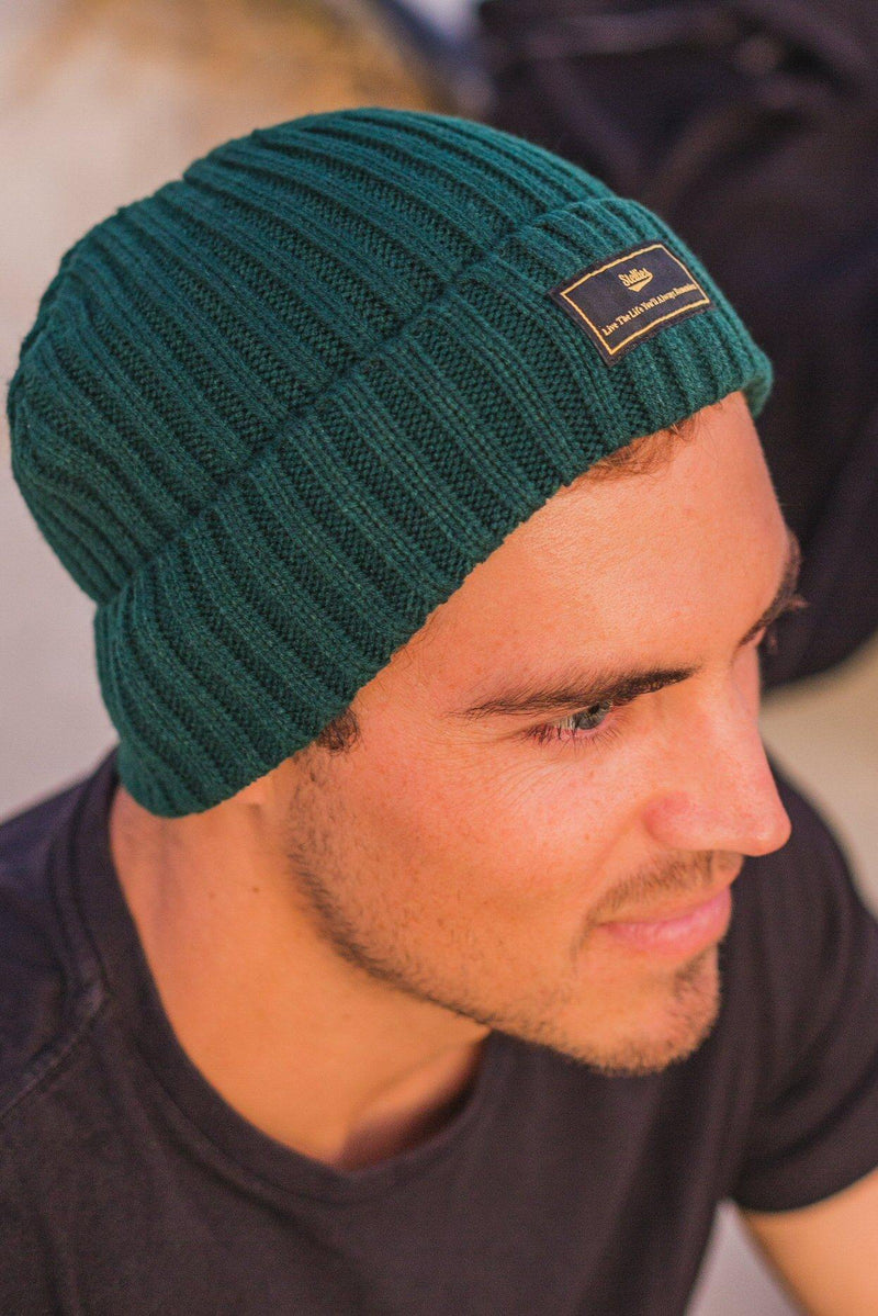 The Core Beanie in Emerald