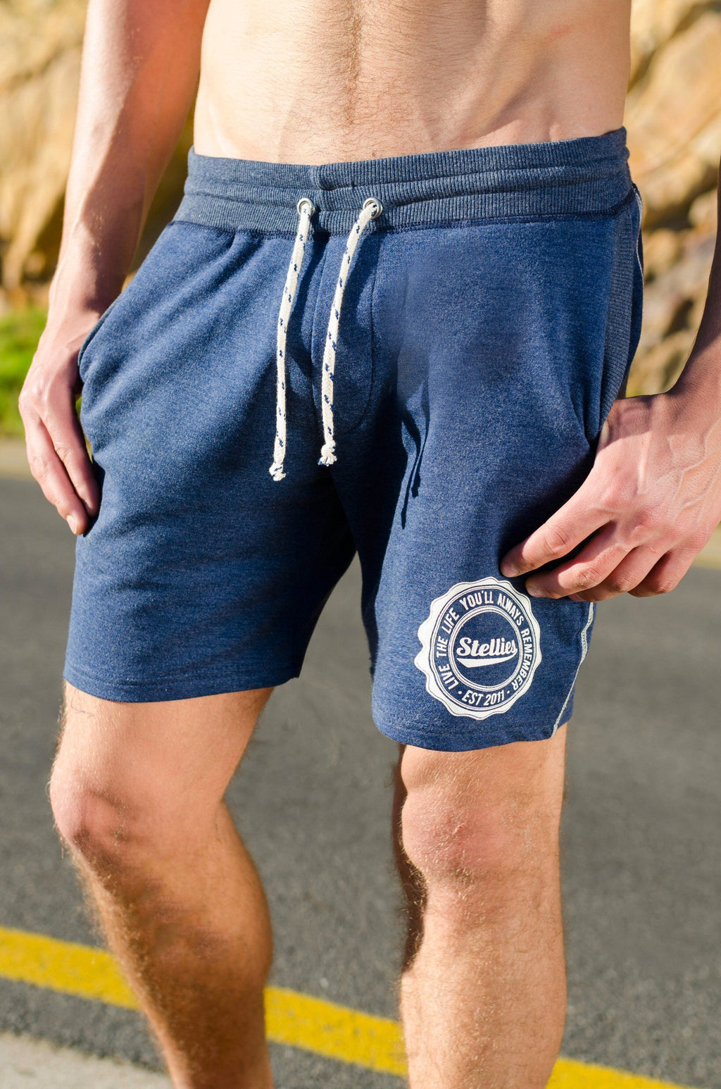 The Indigo BSB Track-Shorts