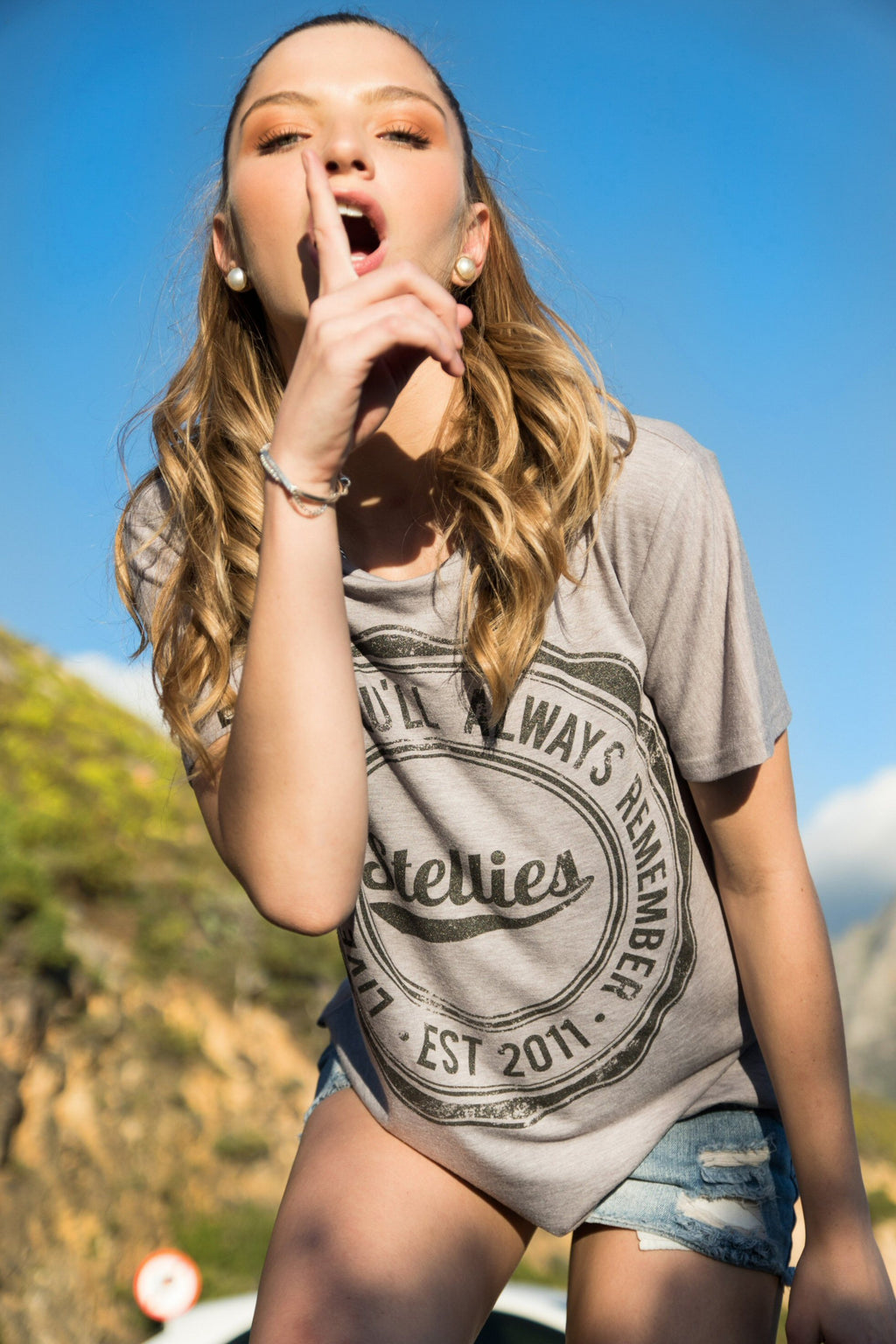 The Rock and Roll Slouchy Tee