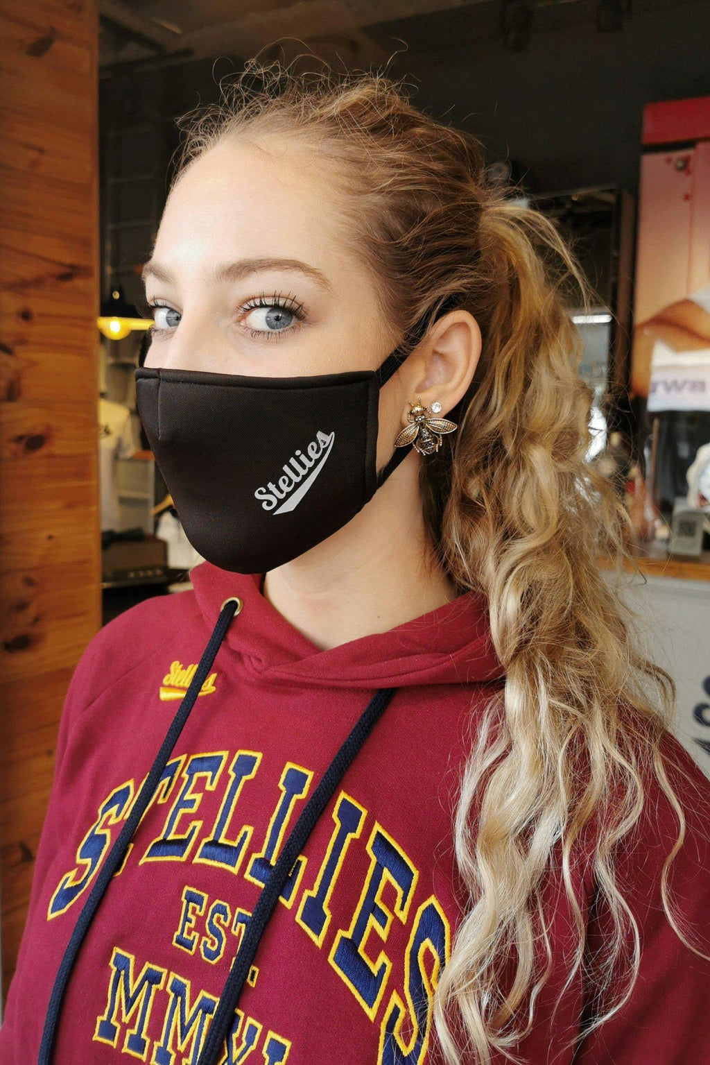 Minimalist Face Mask - Stellies Authentic Clothing
