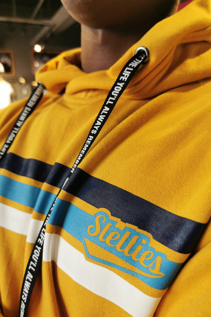 The Mustard Fleece Hoodie - Stellies Authentic Clothing