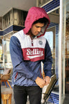 PRE-ORDER: The Tri-Colour Cagoule Rain-Jacket - Stellies Authentic Clothing