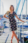 Fit & Flare Dress in Summer Florals
