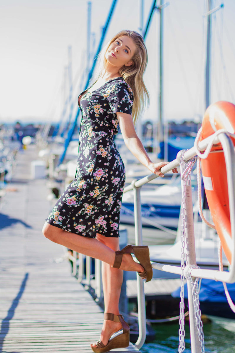 The Fit & Flare Dress in Summer Florals