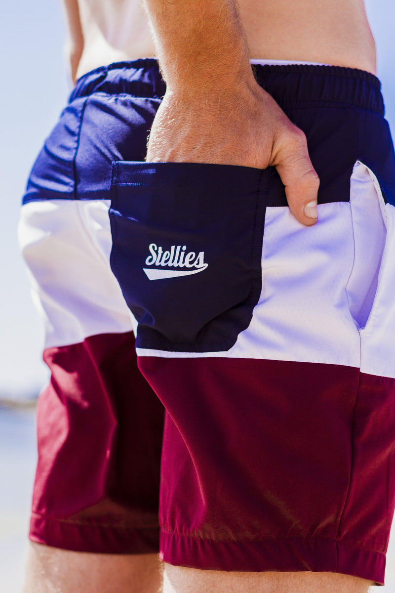Party in the Front Swim Shorts - Stellies Authentic Clothing