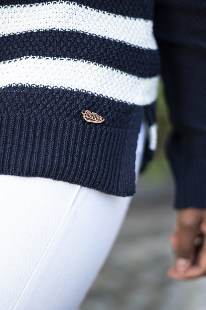 Nautical Knit Slouchy Jersey