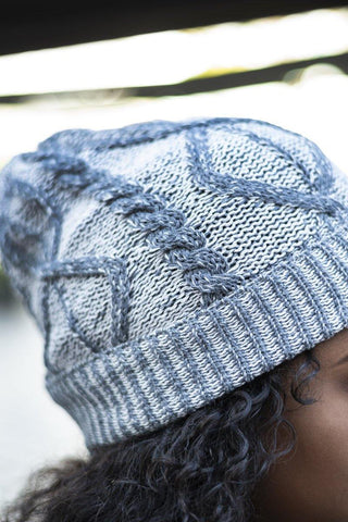 Charcoal Aron Beanie with Grey Accent