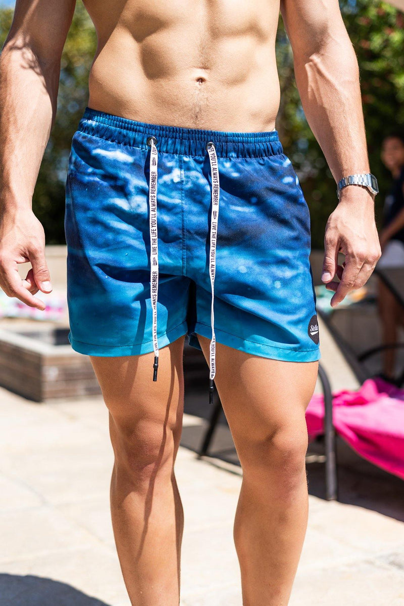 The True Blue Swim Shorts