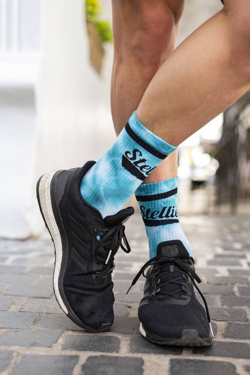 PRE ORDER: Stellies Socks in Bubble-gum Crush-dye