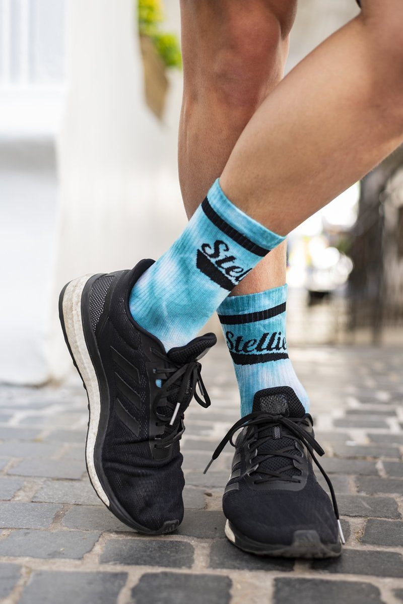 Stellies Socks in Bubble-gum Crush-dye