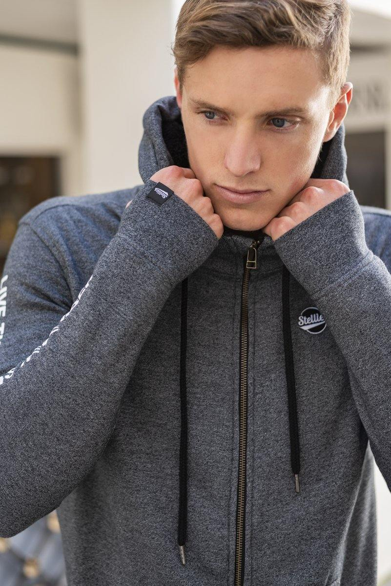 Men's Zip Up Fleece Hoodie