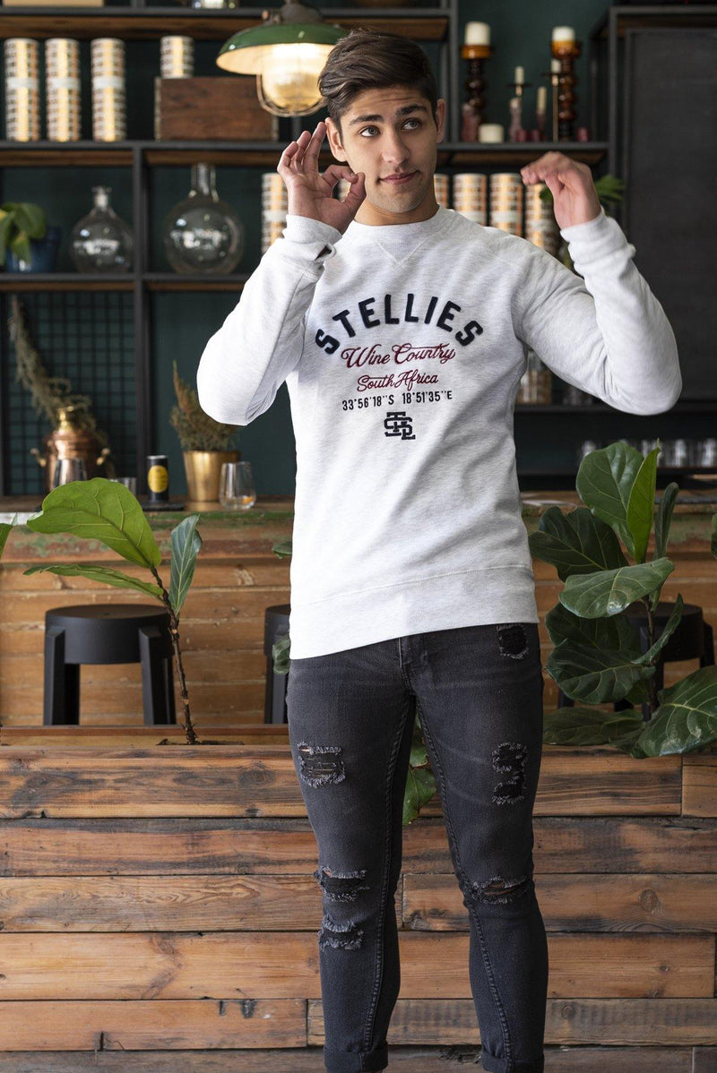 Wine Country Crew Neck Pull Over