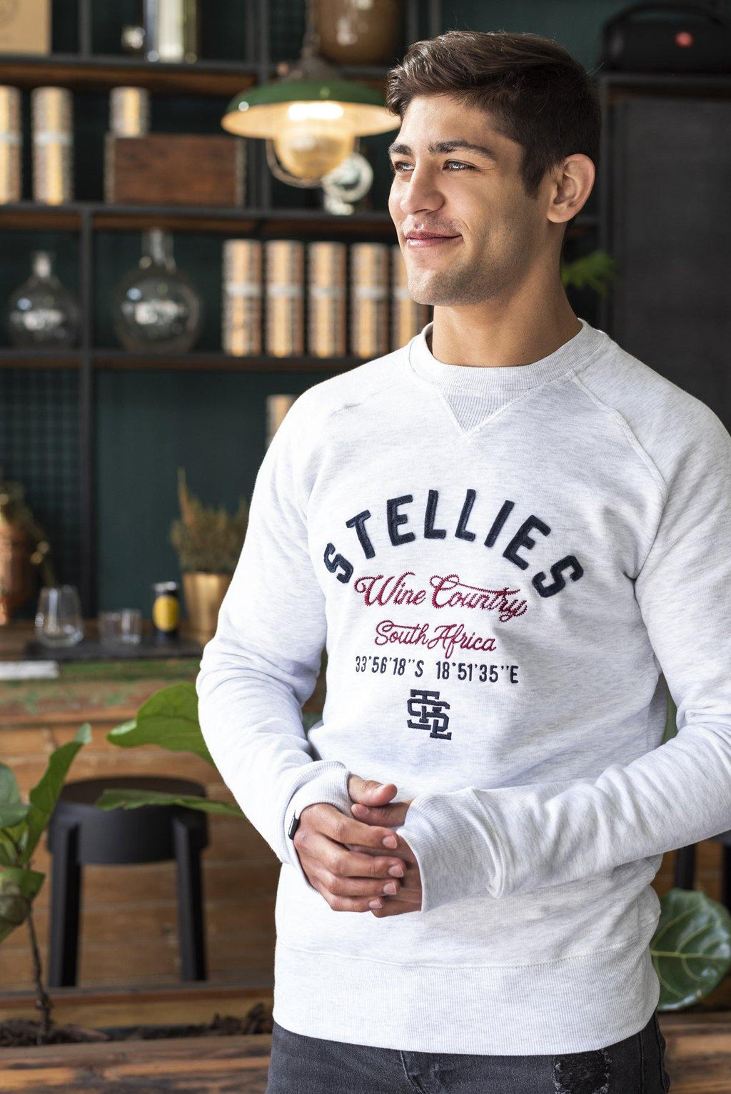 The Wine Country Crew Neck Pull Over