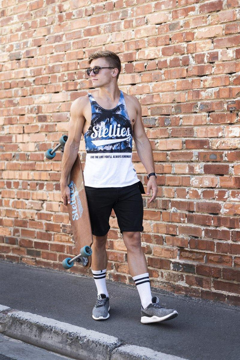 The Ibiza Stringer Vest - Stellies Authentic Clothing
