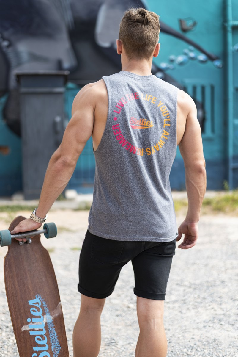 The Ombre Muscle Tank