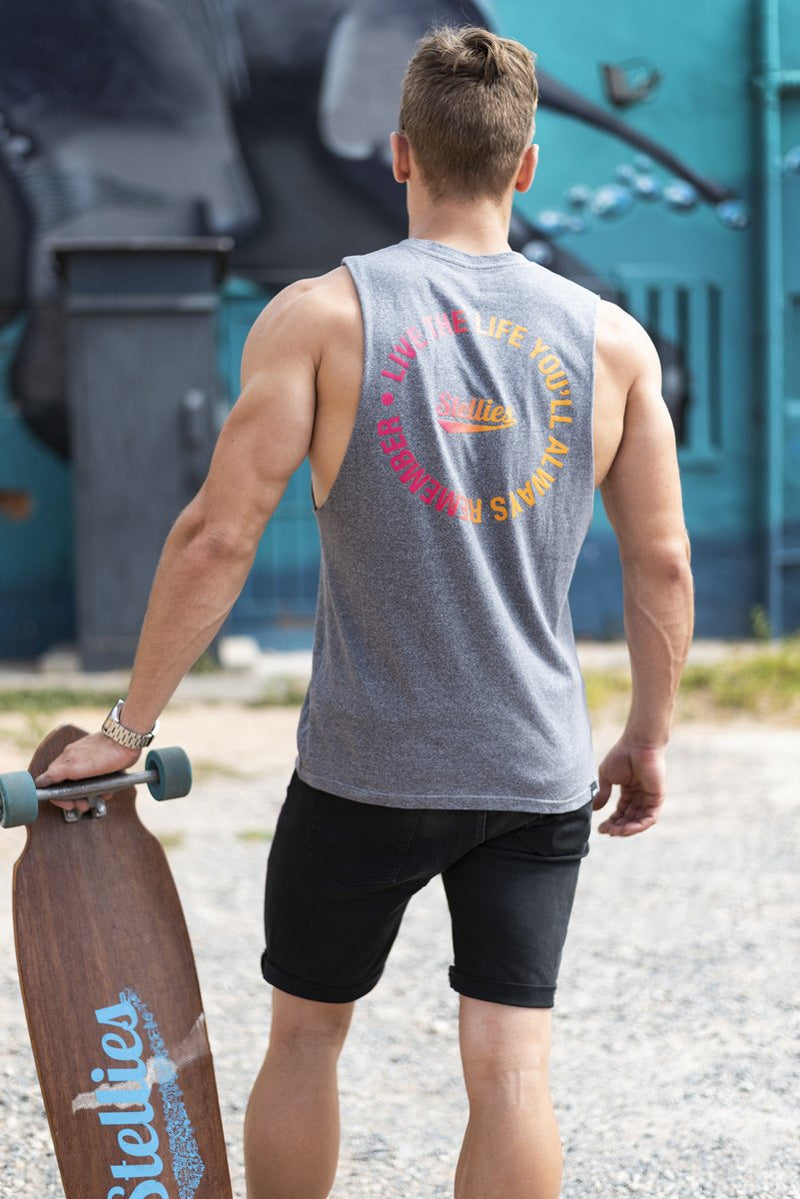 Mens Ombre Muscle Tank