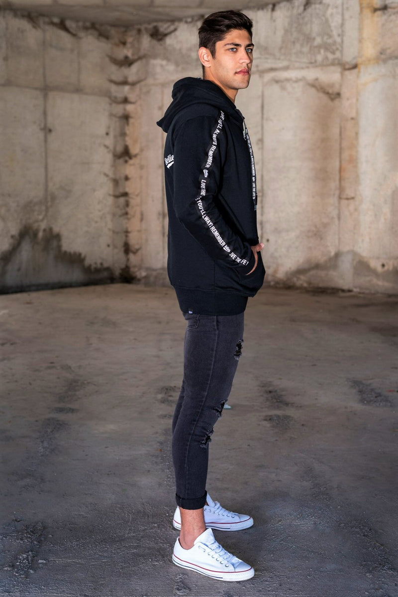 The Monochrome Fleece Hoodie