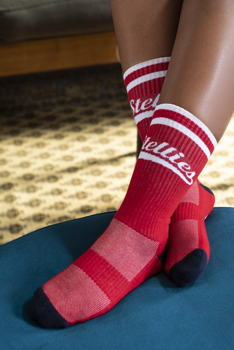 The Stellies Socks in Robot Red