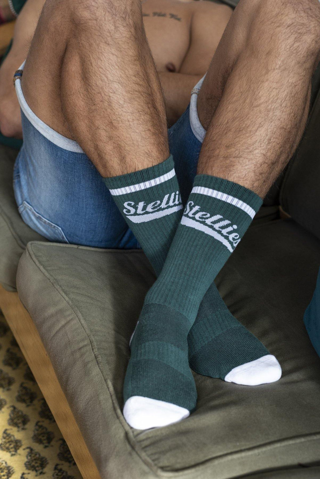 The Stellies Socks in Bottle Green