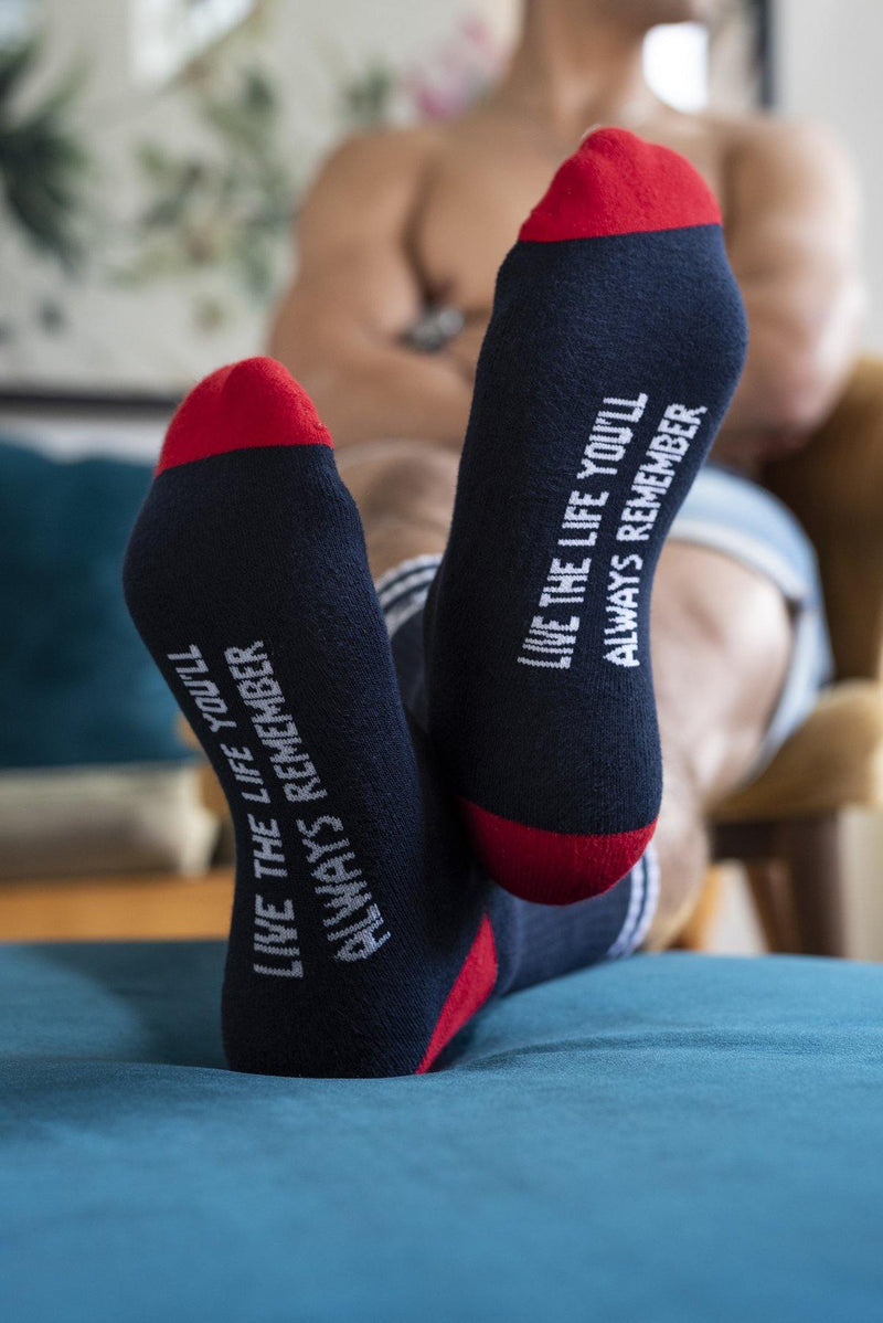 PRE-ORDER Stellies Socks in Navy