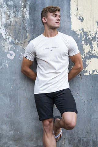 The White Lightning Scoop-Neck Tee