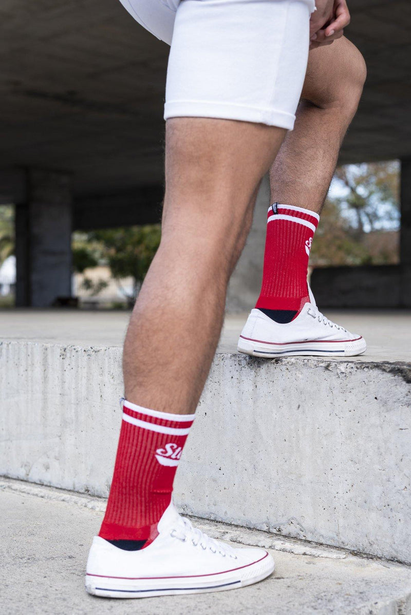 Stellies Socks in Robot Red