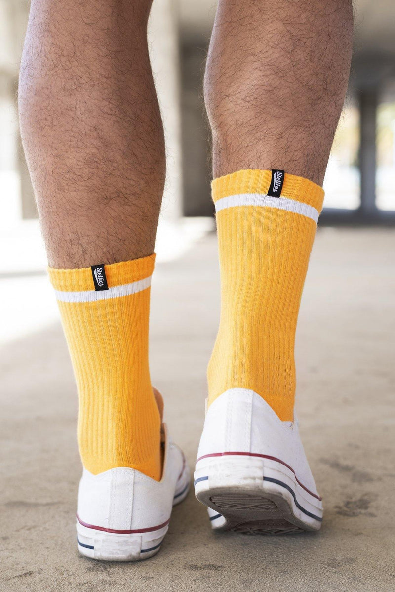 Stellies Socks in Mustard