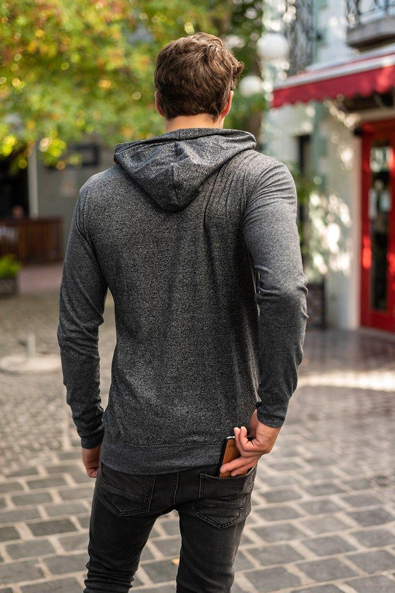 Jupiter Ultralight Hoodie in Charcoal