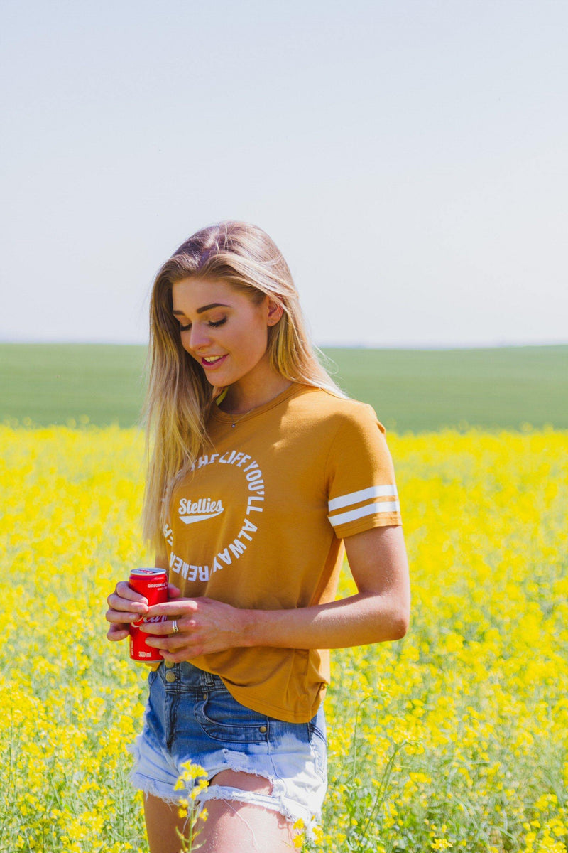 Butterscotch Tee - Stellies Authentic Clothing