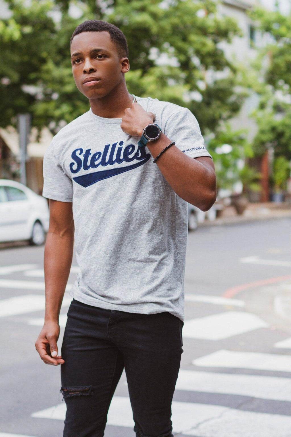 The Vintage OG Crew Neck Tee - Stellies Authentic Clothing
