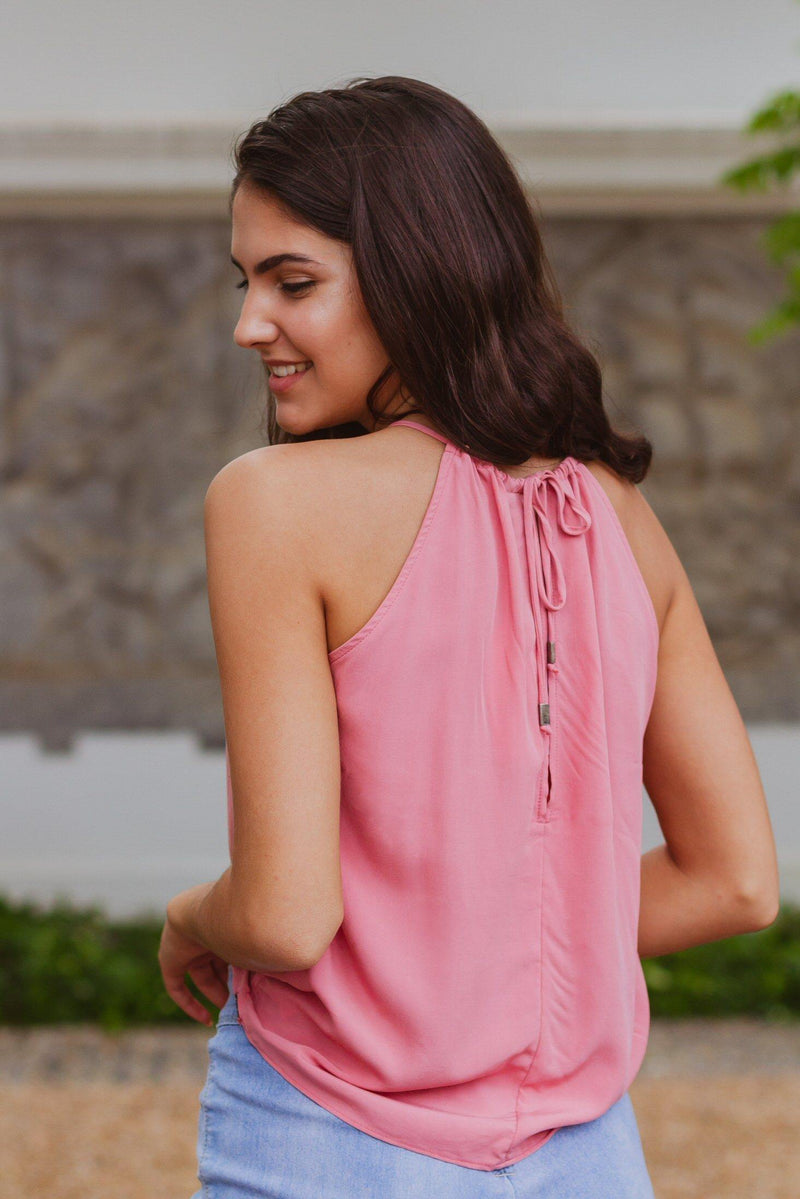 The Caprice Cami in Dusty Rose