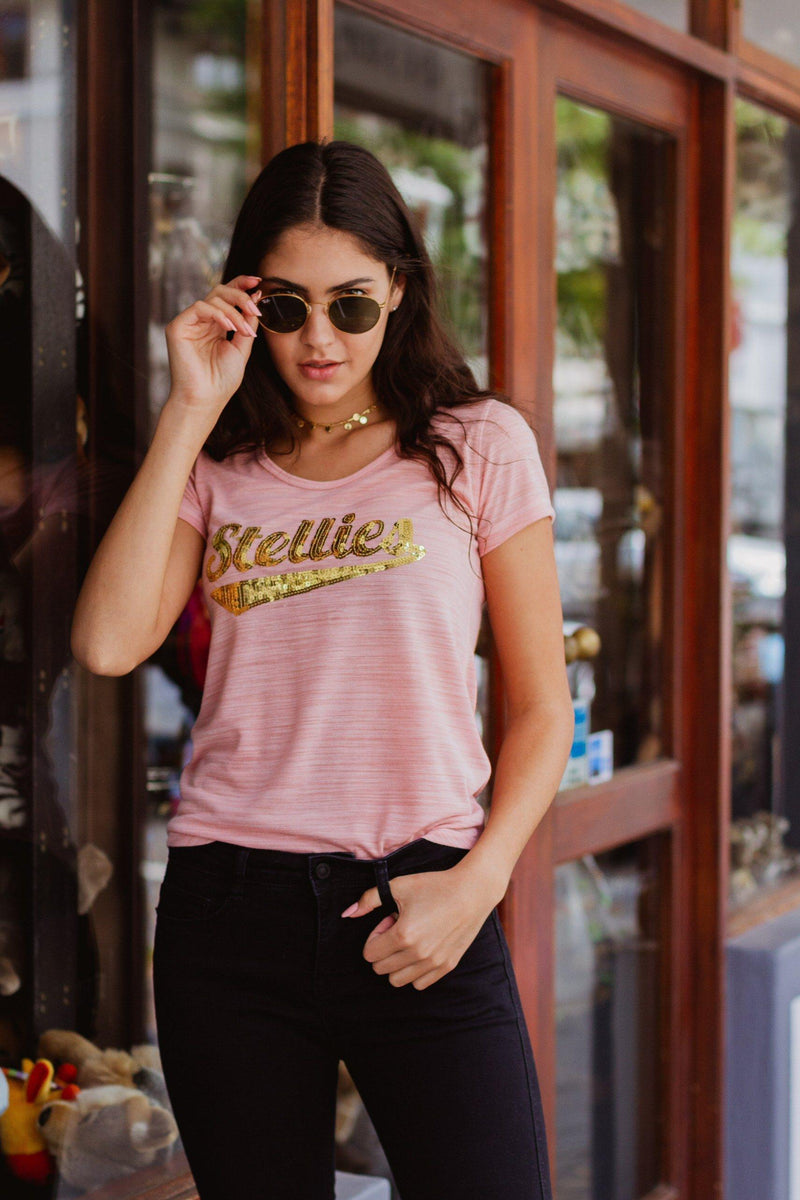 Glitter Gold OG tee - Stellies Authentic Clothing