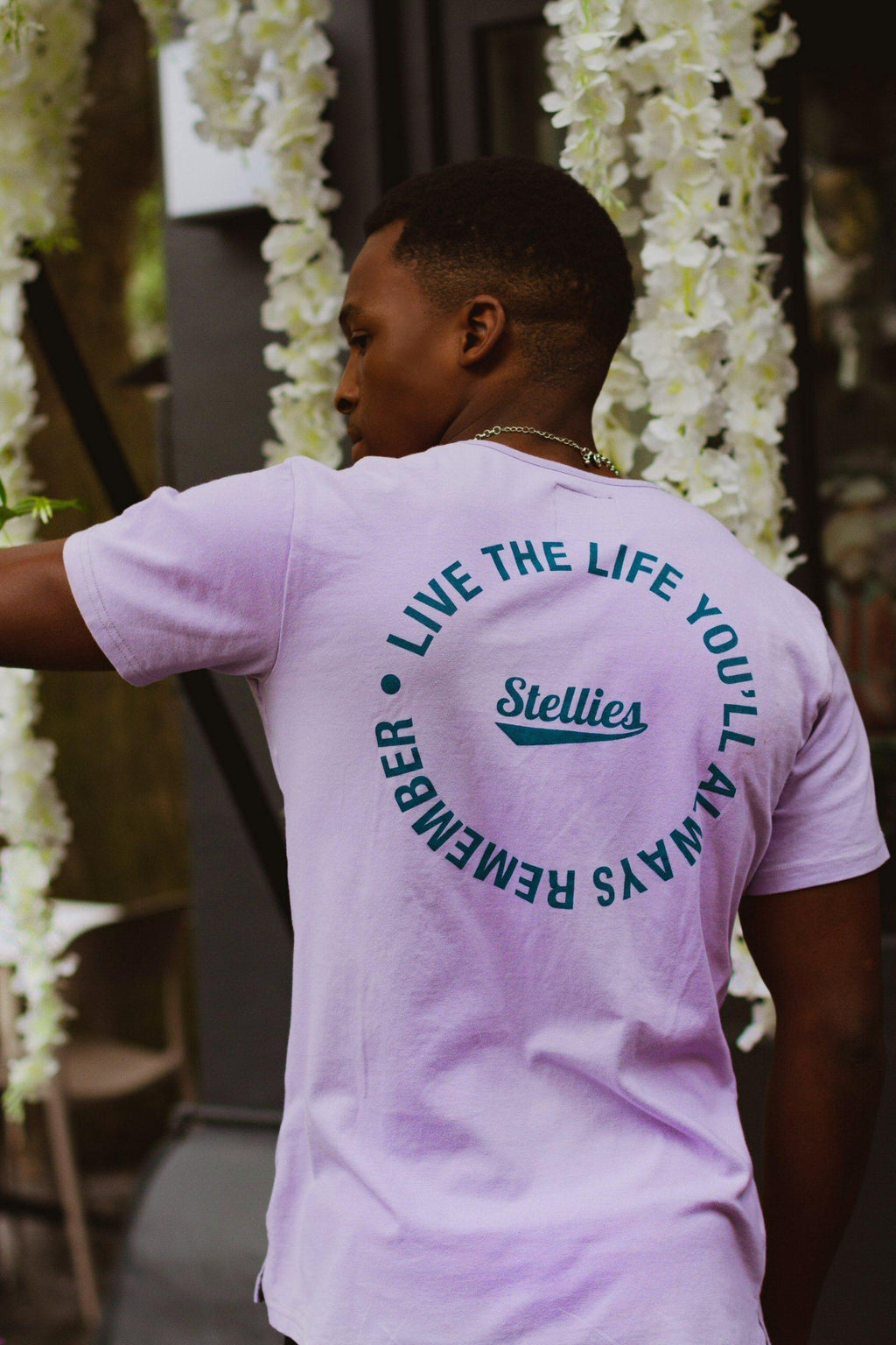 The Lilac JB Tee - Stellies Authentic Clothing