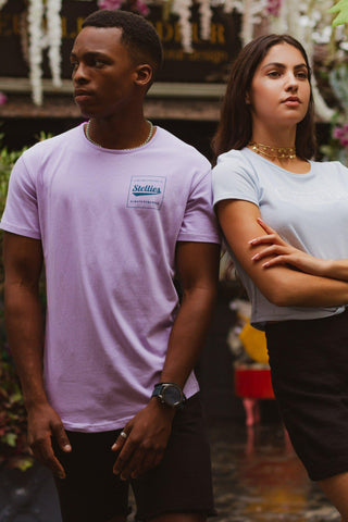 The Indigo Ombre Crew Neck Tee