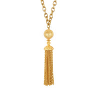 Battina Necklace - 24k Gold - Angelina Alvarez