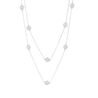 Sofia Necklace - Silver - Angelina Alvarez