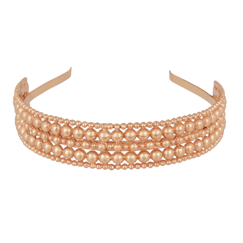 Isabella Headband - Rose Gold - Angelina Alvarez