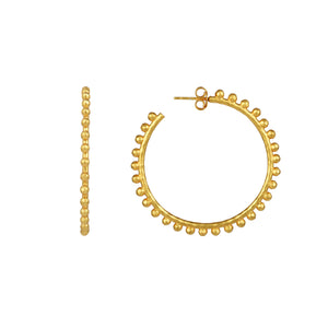Christina Hoop Earrings - Angelina Alvarez