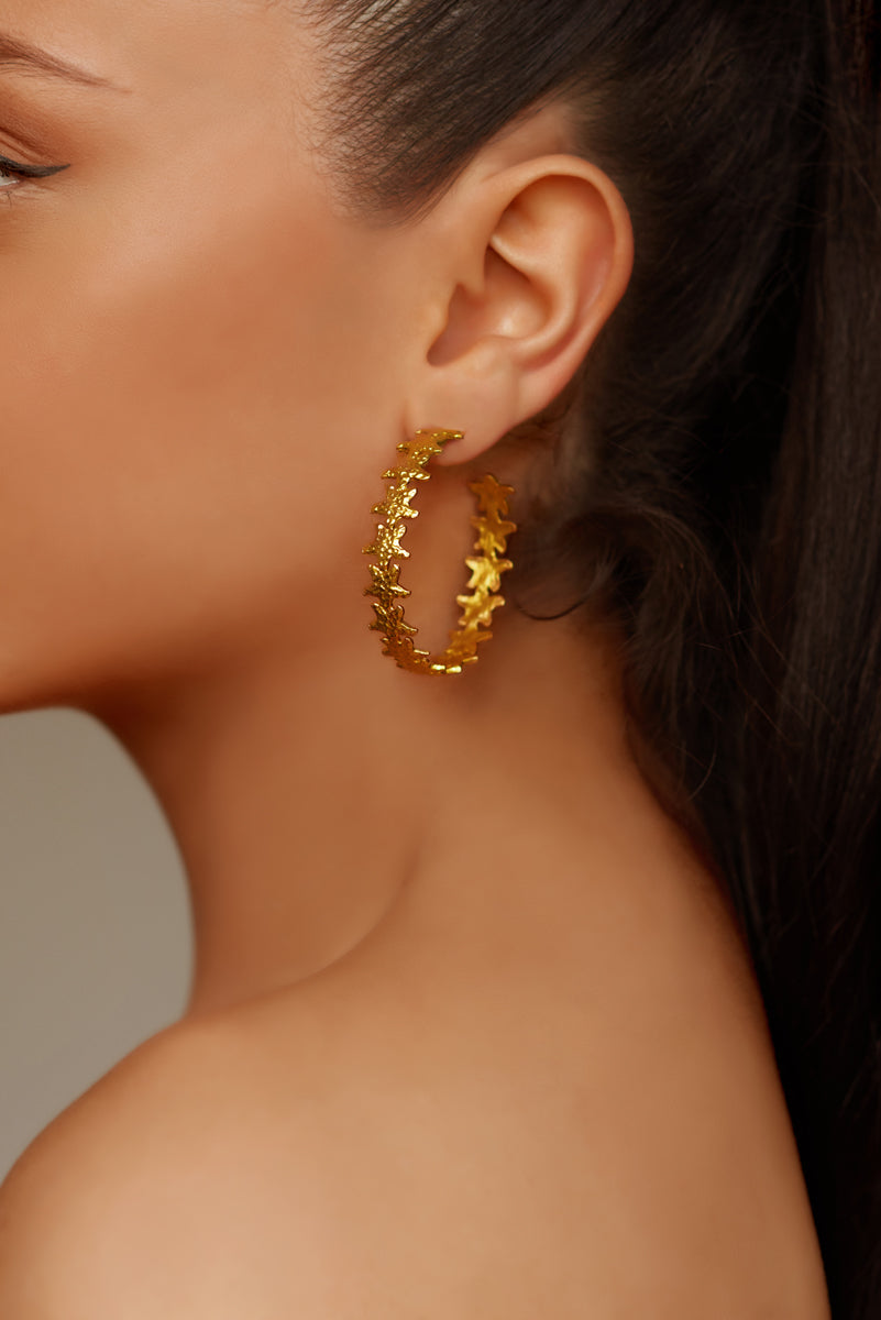 Andrina Hoop Earrings - Angelina Alvarez